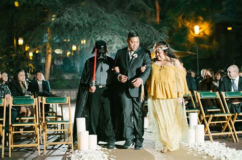 The Force is Strong with this Star Wars Disney Wedding ...