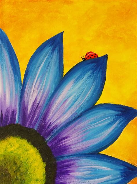 The gallery for --> Easy Flower Painting Designs