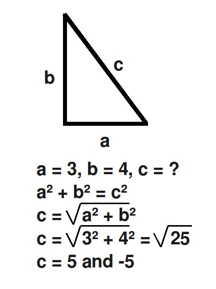 The gallery for --> Pythagorean Theorem Formula For Right ...