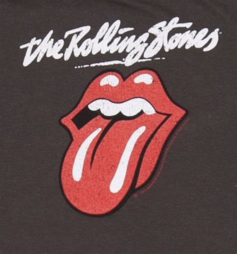 The gallery for   > The Rolling Stones Logo Black And White