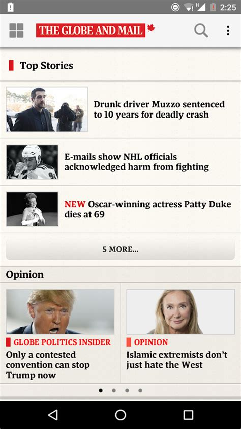 The Globe and Mail: News - Android Apps on Google Play