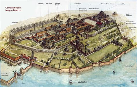 The Great Palace of Constantinople | The ancient Roman ...