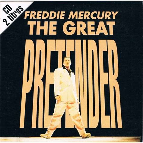 The great pretender by Freddie Mercury / Queen, CDS with ...