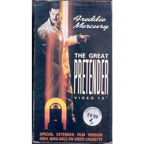 The great pretender  uk 1987 2 trk vhs video single unique ...