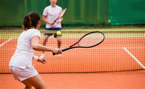 The Health Benefits of Tennis   Courts & Greens