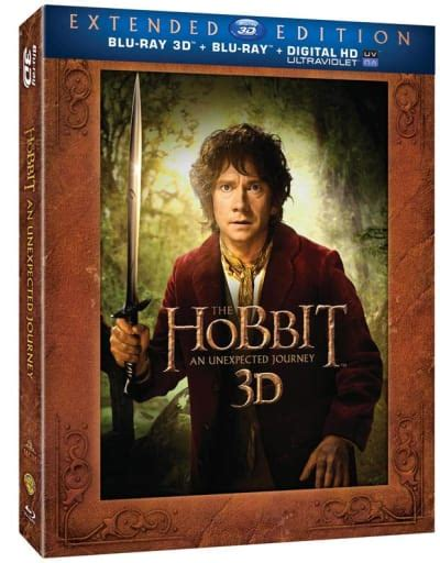The Hobbit An Unexpected Journey Extended Edition DVD ...