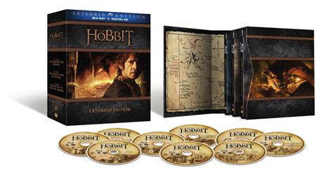 The Hobbit Trilogy Extended Edition Blu ray Set Up for Pre ...