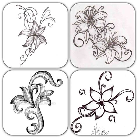 The Images Collection of Draw a rose flower sketch easy ...