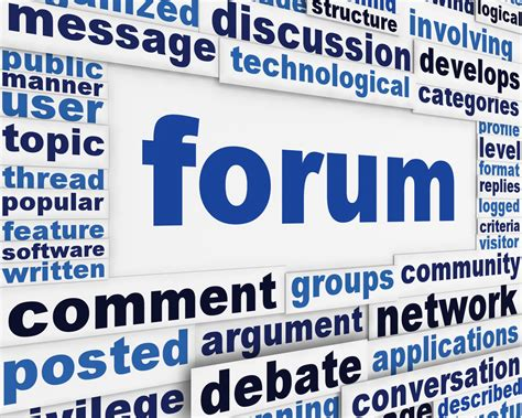 The Importance of Online Forums   The Social Media Monthly