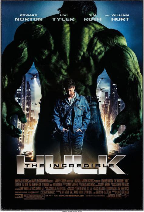 The Incredible Hulk  2008  movie poster   Dangerous Universe