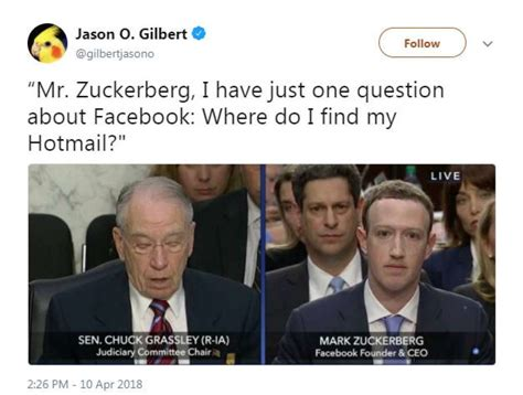 The Internet s Best Memes and Reactions To The Zuckerberg ...