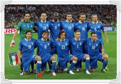 The Italian national soccer team.