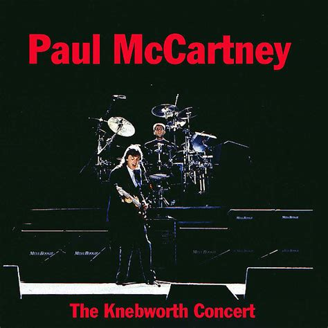 The Knebworth Concert  Unofficial live  by Paul McCartney ...