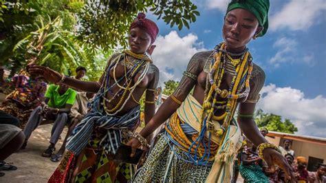 The Krobo People Of Ghana   YouTube