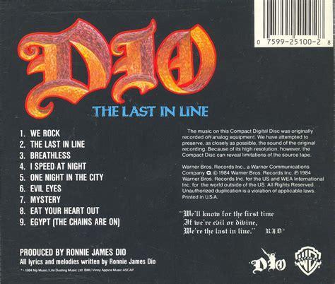 The Last in Line – Black Sabbath Online