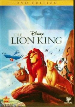 The Lion King: DVD Edition   DVD Database   Fandom powered ...