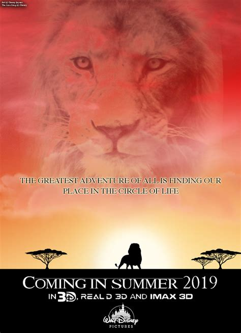 The Lion King Live Action Teaser Poster by RDJ1995 on ...