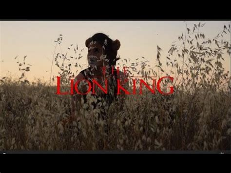 The Lion King Live Action Trailer   YouTube
