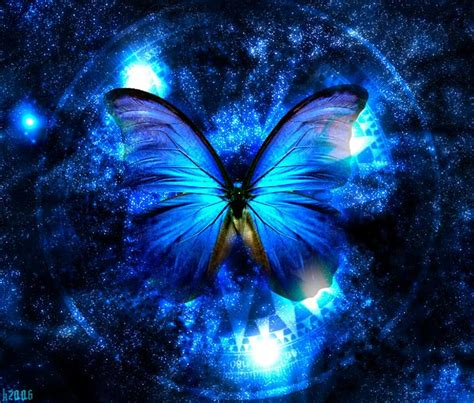 The Little Princess: The blue butterfly