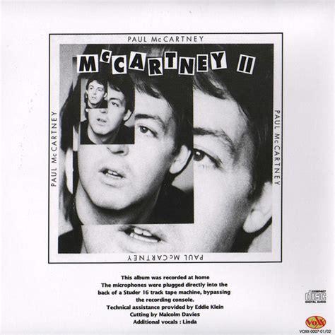 The Lost McCartney Album (Unofficial album) by Paul ...