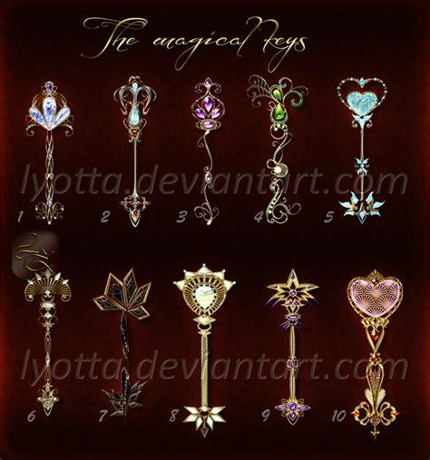 The magical keys set 03 lyotta OPEN by Lyotta on DeviantArt