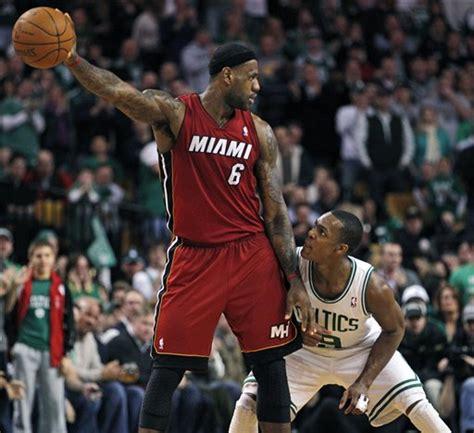The Many (Funny) Faces of LeBron James - CelticsBlog