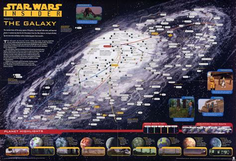 The map of a Galaxy far far away... : StarWars