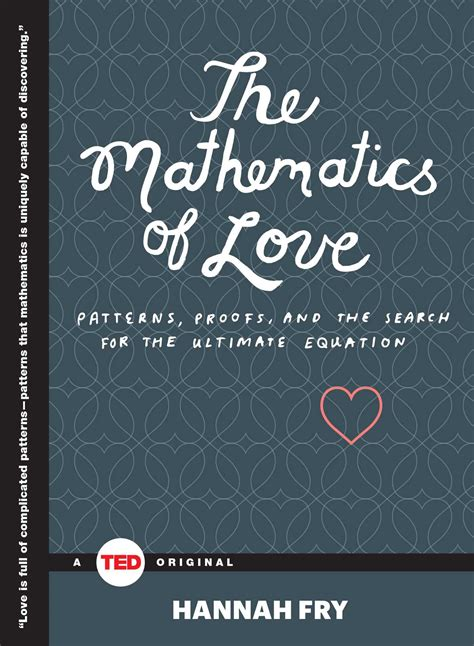 The Mathematics of Love | Book by Hannah Fry | Official ...