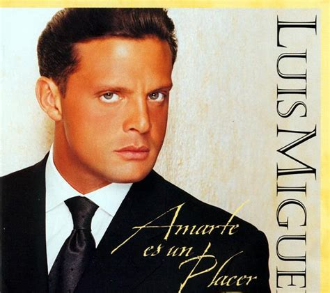 The Musical Basement: Luis Miguel - Amarte Es Un Placer (1999)