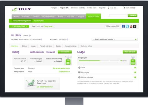 The new and improved TELUS My Account | TELUS.com