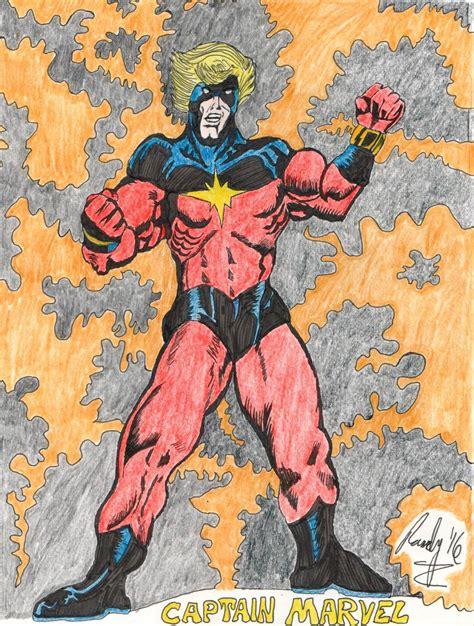 The Original Captain Marvel! – My Nerdy Comic Drawings