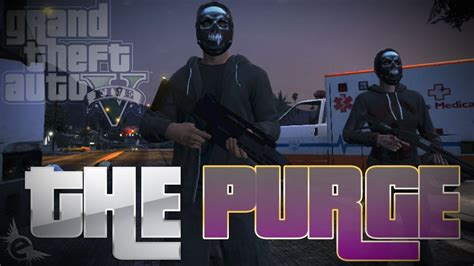 The Purge 2 Anarchy Trailer | GTA 5 PARODY - YouTube