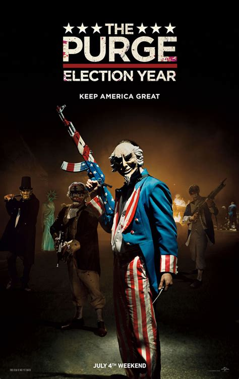 The Purge: Election Year (Movie Review) | CrypticRock ...