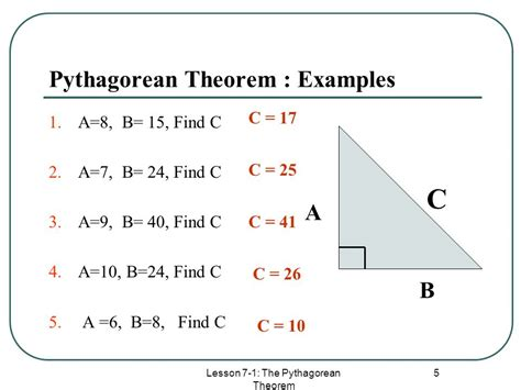 The Pythagorean Theorem - ppt download
