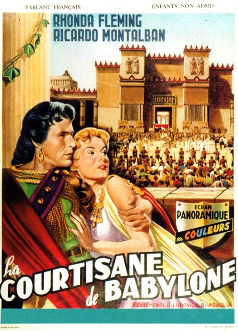 The Queen of Babylon (1954) | Amazing Movie Posters