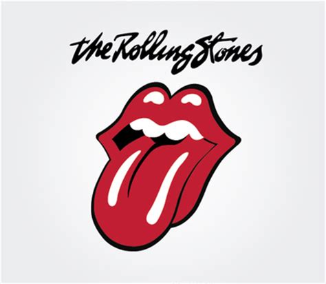 The Rolling Stones Band Logo   Free Vector Logo Template