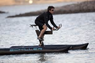 The Schiller X1 human powered  boat bike  lets cyclists ...