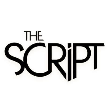 The Script Logo | Inspiratie Artiesten logo's | Pinterest ...