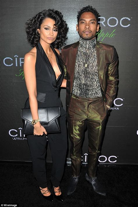 The Simple Things  Miguel and model Nazanin Mandi are ...