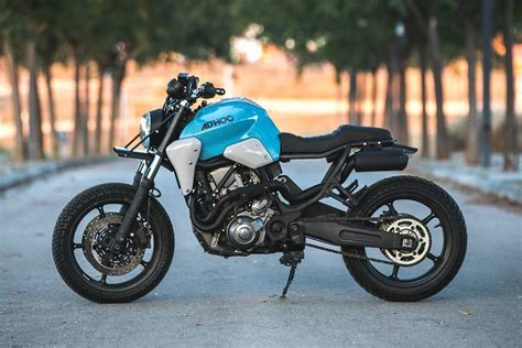 THE SINGLES SCENE. Ad Hoc Cafe Racers' Yamaha MT-03 ...
