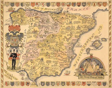 The story map of Spain, la historia de España en un solo ...