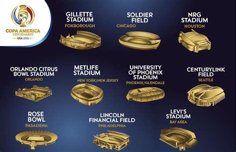 The ten stadiums of the Copa América Centenario | CONMEBOL