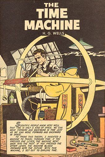 The Time Machine - H.G. Wells | Time Machines | Pinterest ...