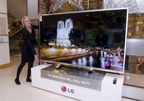 The ultimate TV? LG reveal 84inch set wider than a car ...