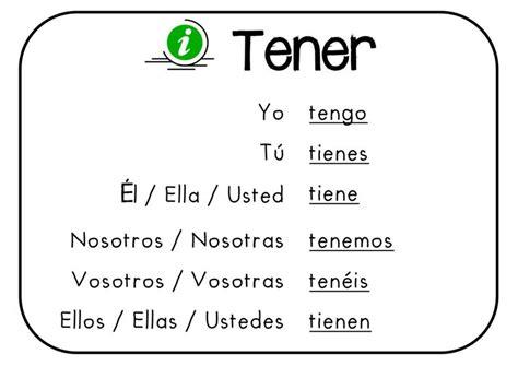 The Verb Tener in Spanish L12 — Steemit