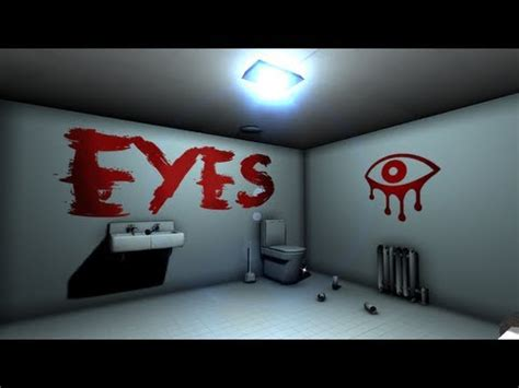 THE WALLS HAVE EYES!   Let s Cry   Eyes: The Horror Game