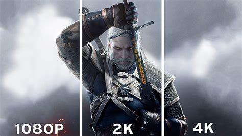 The Witcher 3: Wild Hunt - 1080p vs 2K vs 4K Graphics ...