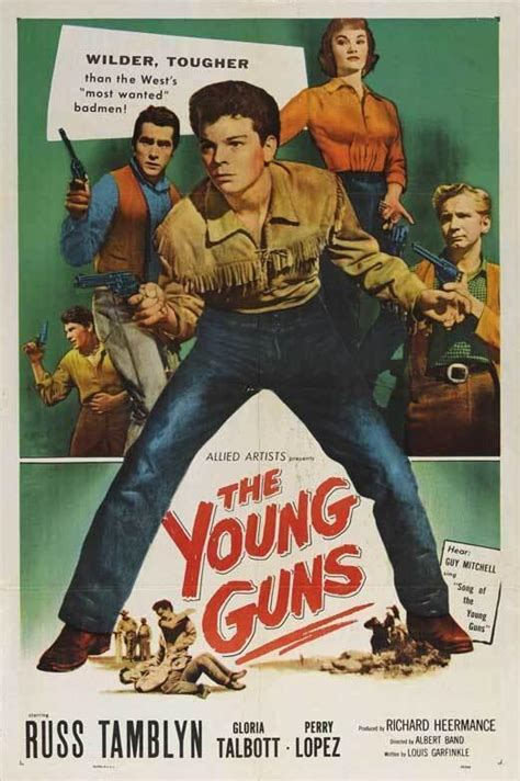 The Young Guns (1956) - FilmAffinity