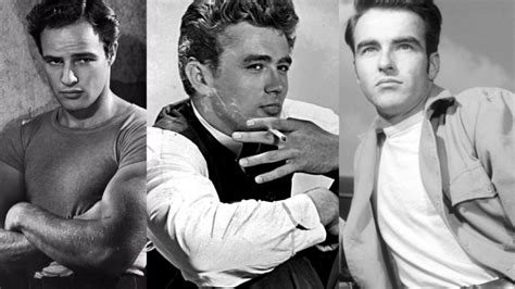 Theatre icons of the 20th century: Brando, Clift, Dean