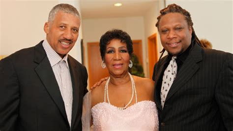 These are two of Aretha Franklin s children  two not show ...
